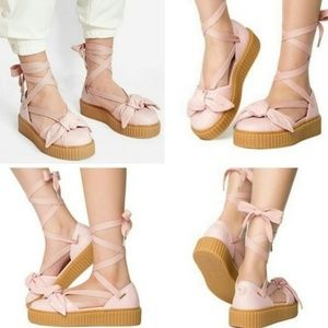 EUC Puma X Fenty by Rihanna Creeper Sandals Sz 10